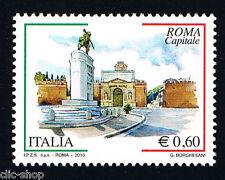 ITALIA 1 FRANCOBOLLO ROMA CAPITALE 2010 nuovo**