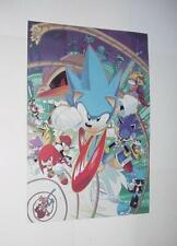 Sonic the Hedgehog Poster #19 Scourge Evil Sonic Sally Acorn Bunnie Charmy Ben B