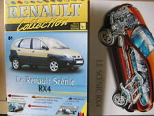 FASCICULE  51 RENAULT COLLECTION  SCENIC RX4  AVEC INSERT