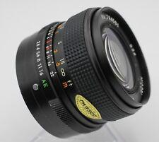 Midori 28mm F2.8 Konica AR Mount Lens For SLR/Mirrorless Cameras