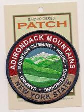Adirondack Mountains New York State Souvenir Patch  Adirondacks 126