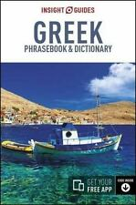 Greek  - Insight Guides : Phrase Book and Dictionary: By Insight Guides Staff...