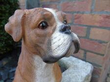 BOXER , statue d un chien boxer ,parfait imitation , nouveau !