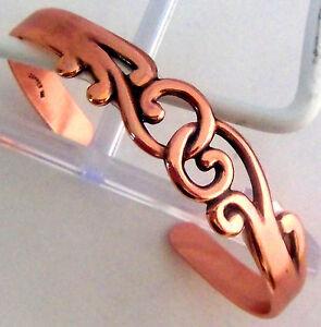 Copper Bracelet by Wheeler USA Detox Arthritis Healing Folklore Sciatica CB 120