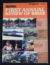 Easyriders First Annual Review Of Bikes - 1988 Program