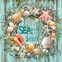 5D Full Drill Diamond Painting Seashell Garland  Embroidery Cross Stitch Kits