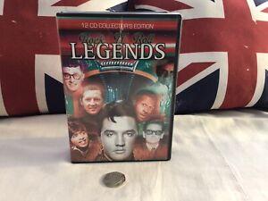 Rock & Roll Legends 12 CD Box Set 204 Tracks