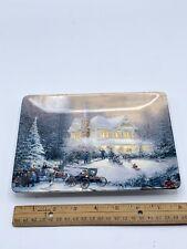 1997 Thomas Kinkade Home For The Holidays Christmas Plate # 388A