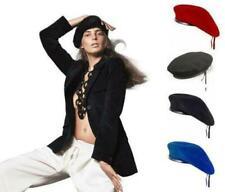 Gorras y sombreros de mujer boinas 100% lana