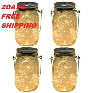 NEW 3 Pack lids and Handles(No Jar) Garden Outdoor Solar Hanging Lantern Decor