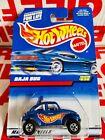 Hot Wheels Blue Volkswagen Baja Bug #835 Year 1997