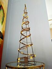 "Holiday Decoration Cone - LED Tree New With Tag 36"" Tall"