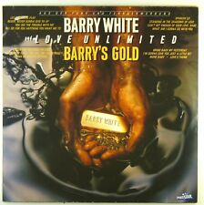 "12"" LP BARRY WHITE-BARRY 's Gold-e1962-Cleaned"
