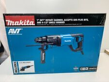 New Listingmakita Hr2641x1 Sds Plus Avt Rotary Hammer With Case And 4 12 Angle Grinder