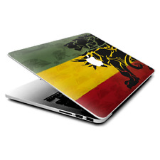 "Skin Decals Wrap for MacBook Pro Retina 13"" - Rasta Lion Africa"