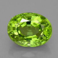 Natural Genuine Peridot AAA Oval Faceted Loose Stone (4x3mm - 11x9mm)