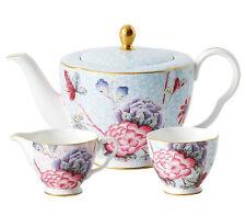 Wedgwood Cuckoo Teapot Sugar Bowl & Creamer 3 Piece Tea Set New Gift Boxed