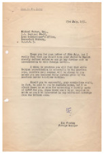 Ian Fleming - Typed Letter Signed - Oversees an MI6 Intelligence Team in Germany
