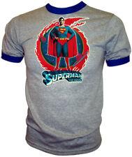 VTG 1978 70s Orig Superman Christopher Reeve DC Comics Movie Iron-On NEW T-Shirt