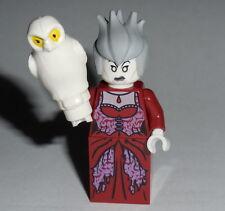 HALLOWEEN #17 Lego Female Demonic-Possessed  in Red Dress w/ Pet Owl Custom NEW