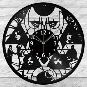 Vinyl Clock Pink Floyd Vinyl Record Wall Clock Home Art Decor Handmade 5741