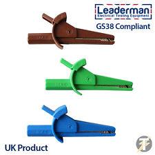 LDM111 1000 voltios/30Amp completamente aislado Cocodrilo Compatible Con GS38/Pinzas De Cocodrilo