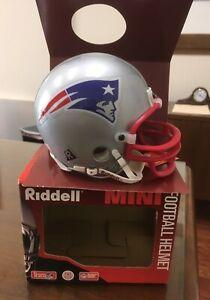 Riddell Mini Helmet New England Patriots 1995 Vintage Football Helmet NEW!