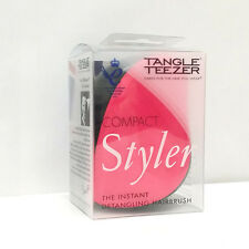 Tangle Teezer Hair Brush Compact Styler Black and Pink Pink Sizzle