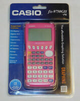 Casio fx-9750GII PK Pink Graphing Calculator Handheld Sealed