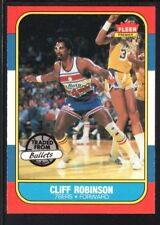 CLIFF ROBINSON 1986/87 FLEER BASKETBALL CARD #93 76ERS