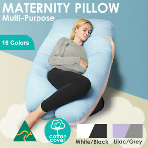Aus Made Maternity Pillow Pregnancy Nursing Body Support Feed Multi Purpose