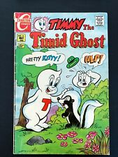 TIMMY THE TIMID GHOST #16 CHARLTON COMICS 1970 FN-