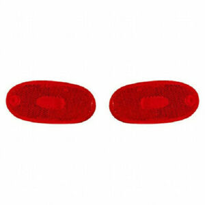 Fits 1993-2002 Mitsubishi Mirage Pair Rear Side Marker R=L Driver and RH