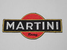 MOTORSPORTS RACING CAR SEW ON / IRON ON PATCH:- MARTINI RACING (d) GOLD LABEL