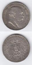 Kaiserreich 5 Mark  Friedrich Grosherzog von Baden 1903 G Silber