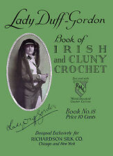 Richardson's #18 c.1917 Lady Duff Gordon Vintage Irish Crochet Lace Patterns