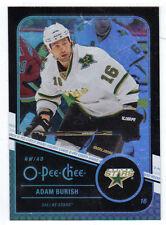 11-12 OPC O-Pee-Chee Rainbow Black Adam Burish #128 022/100 Mint