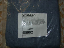 "CHELSEA Tab Top Insulated Drapery Pair 66"" x 63"" Color Slate"