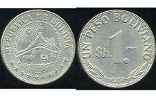 BOLIVIE   1  peso bolivianos  1972