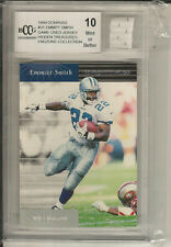 1999 Donruss  31 Emmit Smith Dallas Cowboys Game-Used BCCG 10 Mint ced60deb2