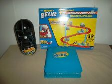 MIGHTY BEANZ (55) Moose's Mighty Beanz Racetrack Ultimate Jump Park W/ 2 Cases