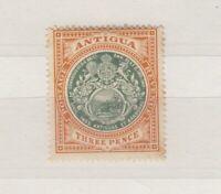 Antigua KEVII 1903 3d Green Orange Brown SG35 MH J5761