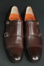 SANTONI Luxus Herrenschuhe  Doppel Monk Gr 11 ( 45 ) NEU&OVP