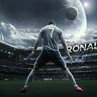 "Juventus Portugal Star Soccer Player 24/""x14/"" Poster 293 Cristiano Ronaldo"