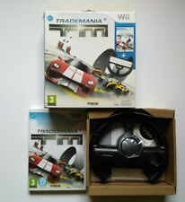 Trackmania Wii/Wii U limited édition (collector) avec volant course fun TBE
