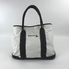 AOL.com Canvas Tote Bag Computer Internet Co. Travel Shopping Beach Carry Bag