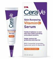 CeraVe Skin Renewing Vitamin C Face Serum With Hyaluronic Acid 1 Fl. Oz.