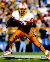 HARDY NICKERSON SIGNED AUTOGRAPHED 8x10 PHOTO TAMPA BAY BUCCANEERS BECKETT BAS
