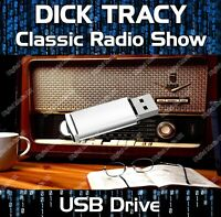 DICK TRACY - OLD TIME RADIO SHOW DRAMA USB - 72 EPISODES MP3