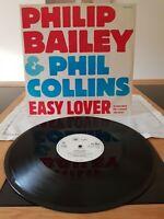 Phil Collins & Philip Bailey Easy Lover 1984.12inch vinyl virgin TA 4915